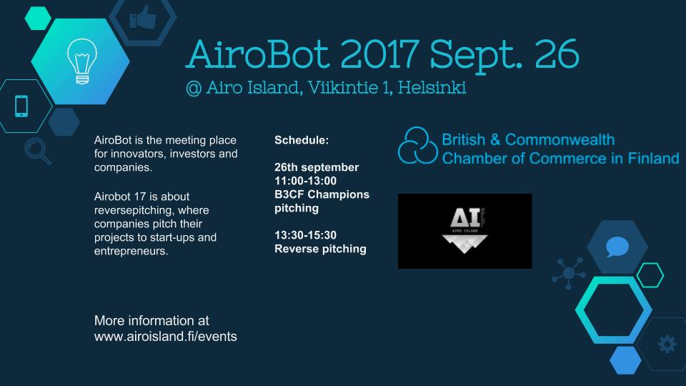 Airobot schedule