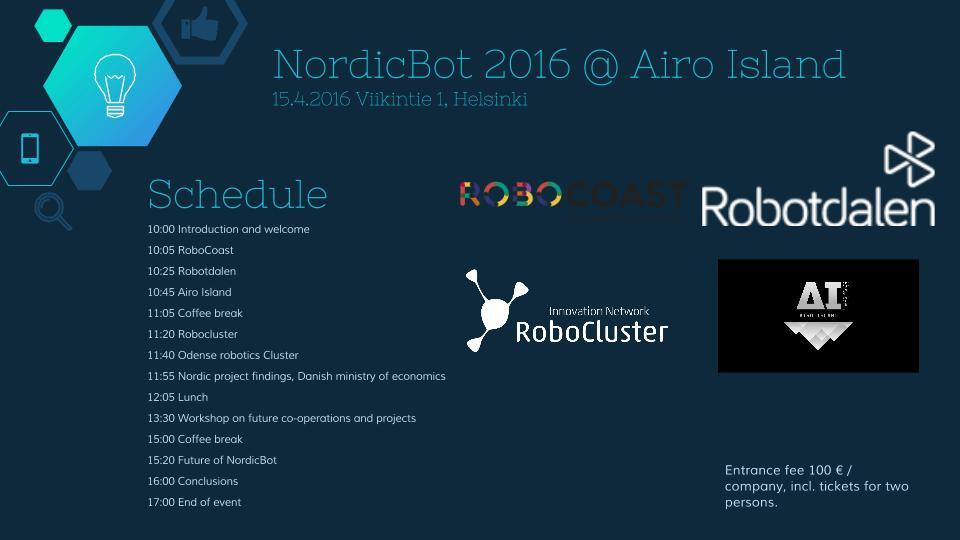 NordicBot schedule